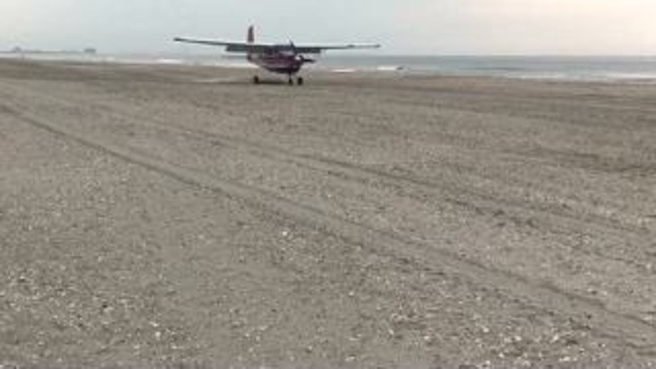 No Day at the Beach for Pilot