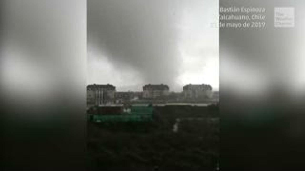 Tornados causan destrucción en Talcahuano y Concepción, Chile