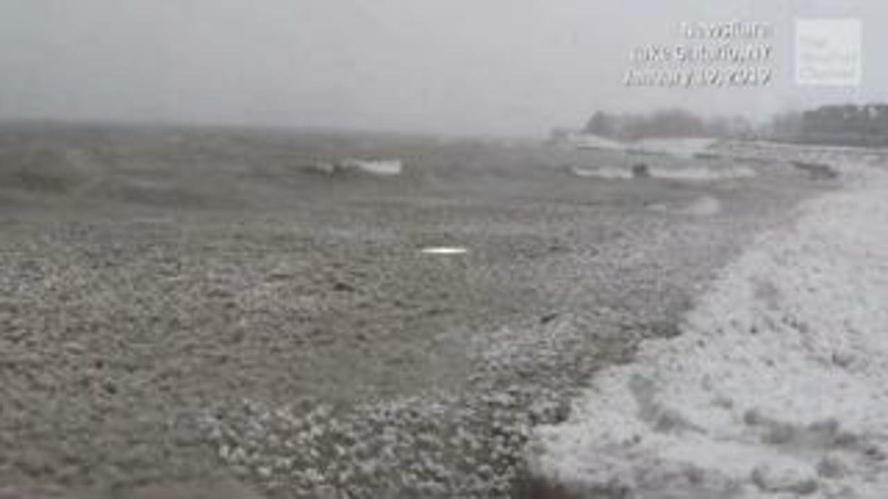El agua de Grandes Lagos sube a niveles récord