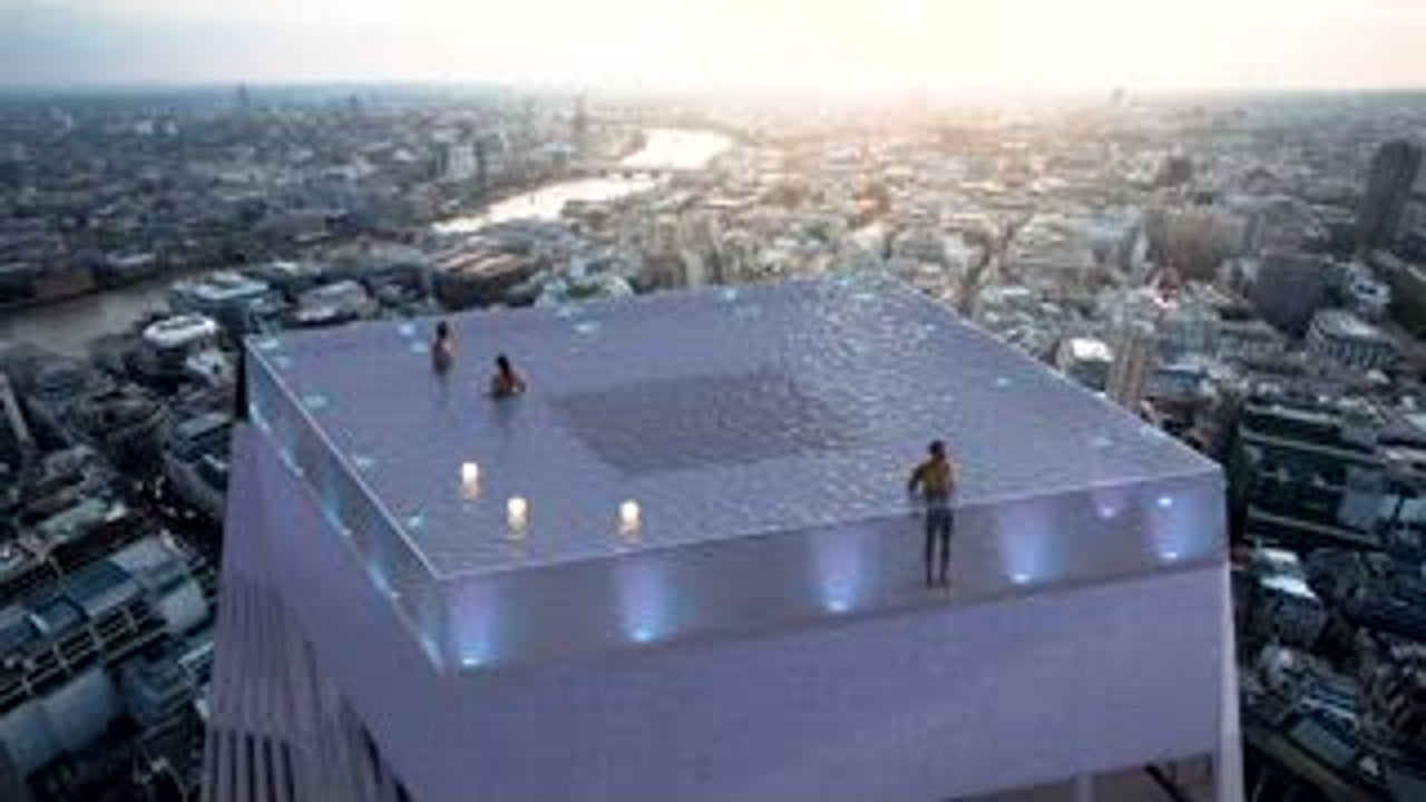 Crazy Cool Rooftop Pool in London
