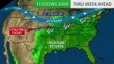 Flooding Rain Through Week Ahead