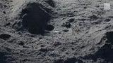 Descubren misteriosa masa en el polo sur de la luna