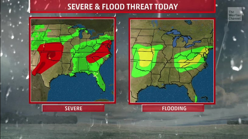 Severe and Flooding in the Forecast this Week