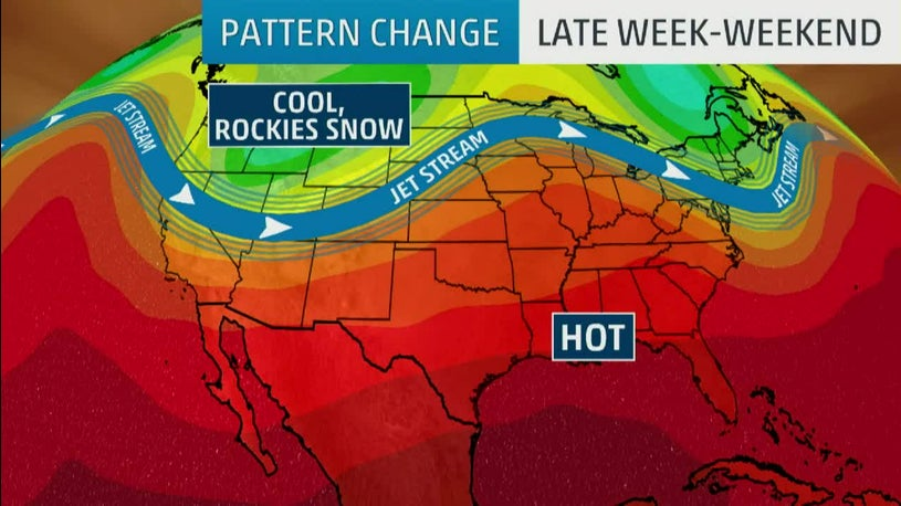 Pattern Change to Bring Colder Temperatures to West, Snow to Rockies