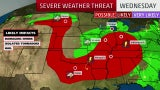 Flooding Rain, Severe Storms Expected From Ohio Valley to Mid-Atlantic