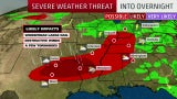 Who Could See Powerful Storms Through Thursday