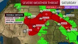 Severe Weather Continues into the Weekend