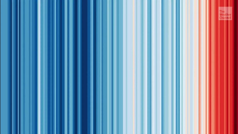 Meteorologists Showing Their Stripes for the Climate