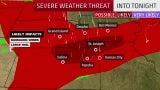 Severe Threat Bringing Damaging Storms, Hail
