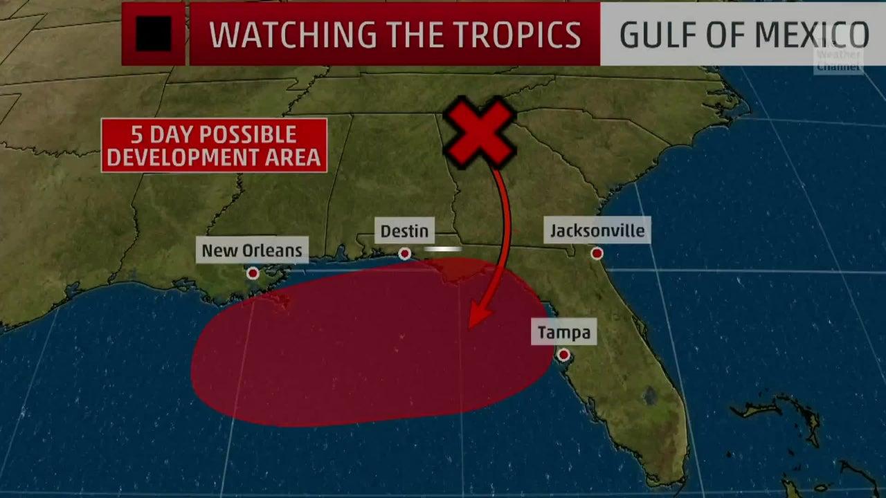 Posible Depresión Tropical en el Golfo de México esta semana