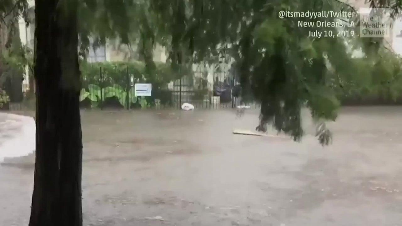 Emergencia de inundaciones repentinas en New Orleans