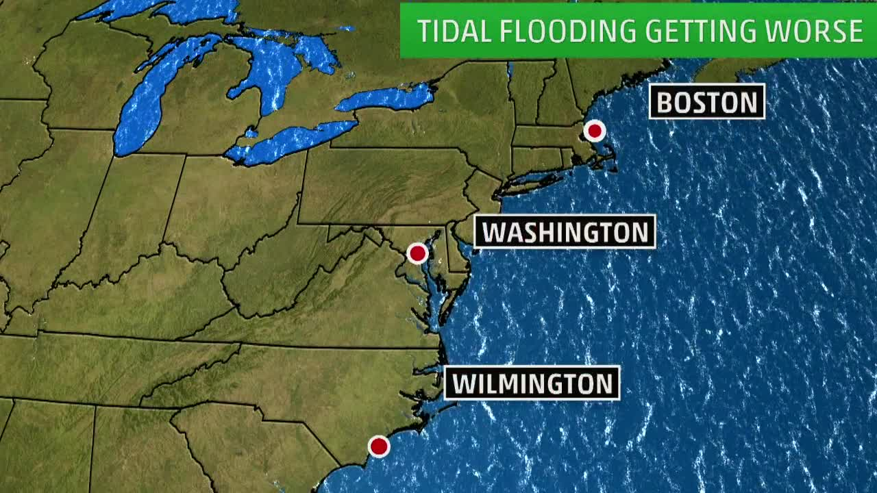 High Tide Flooding Forecast to Get Worse