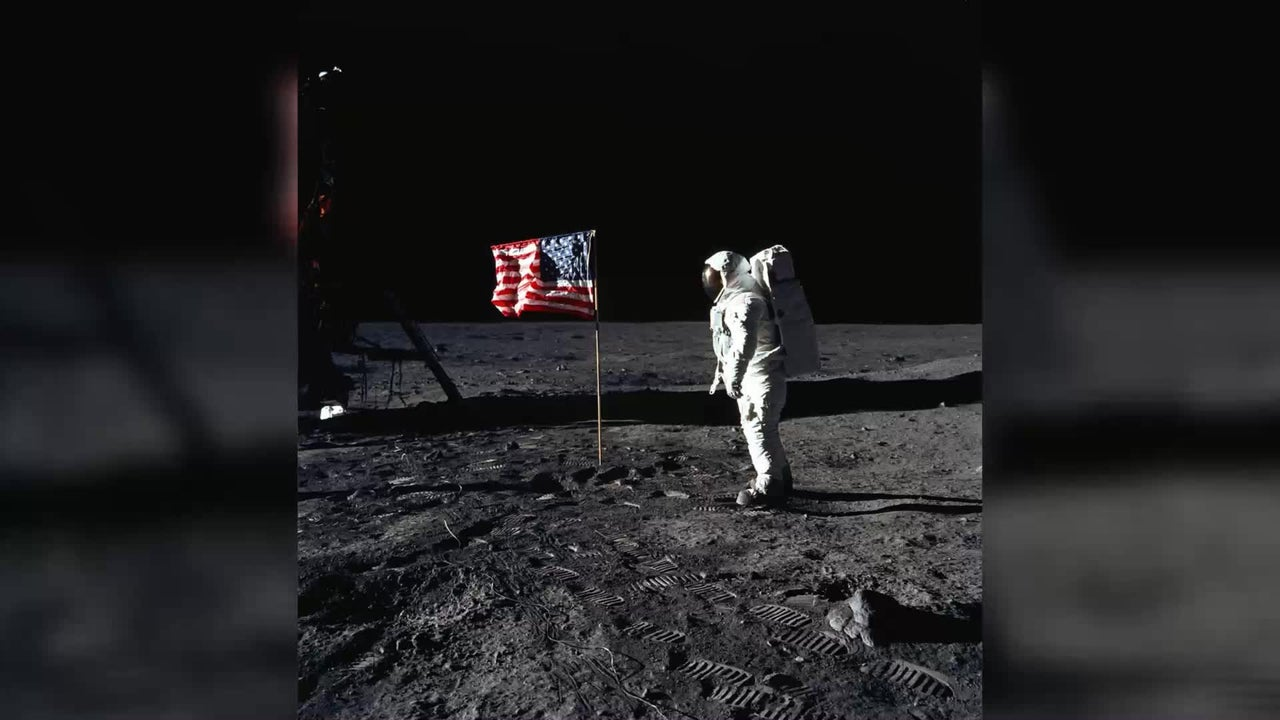 50 Jahre nach der Mondlandung: Was wurde aus der Flagge?