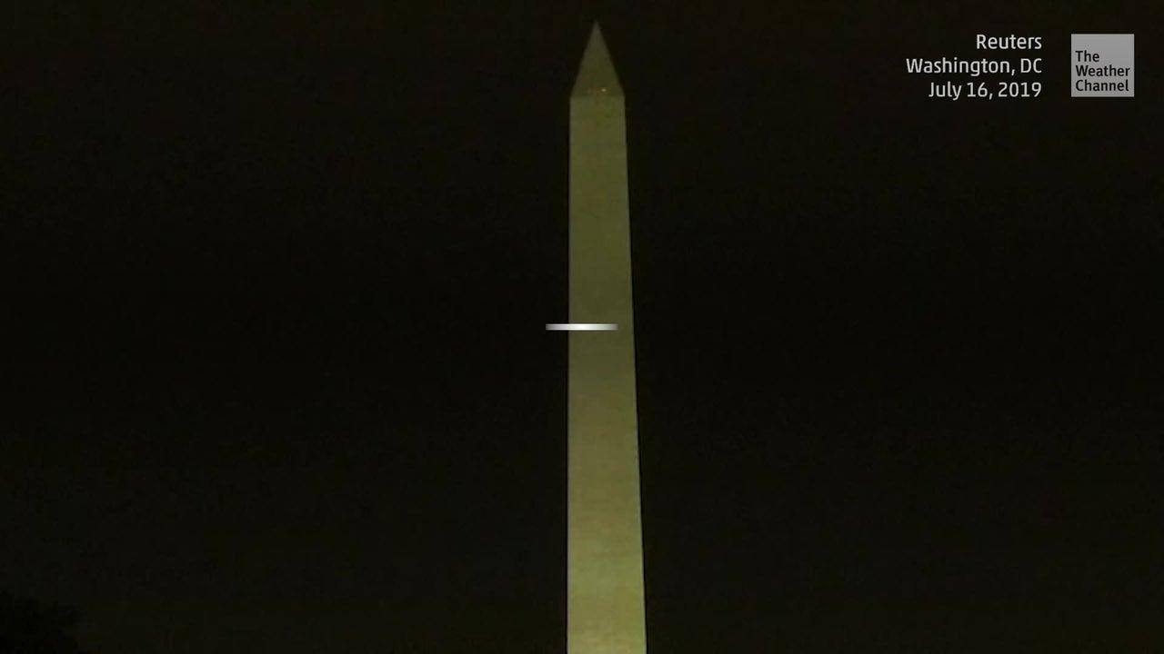 Monumento rinde homenaje al Apollo 11