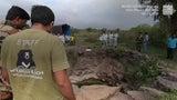 Increíble rescate de un leopardo atrapado en pozo