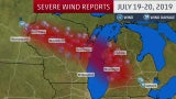 Derecho Winds Cause Damage in the Midwest
