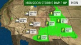 Southwest Monsoon Season is Ramping Up This Week