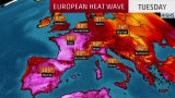 Europe Heat Wave May Shatter All-Time Records in Paris, Belgium and Netherlands