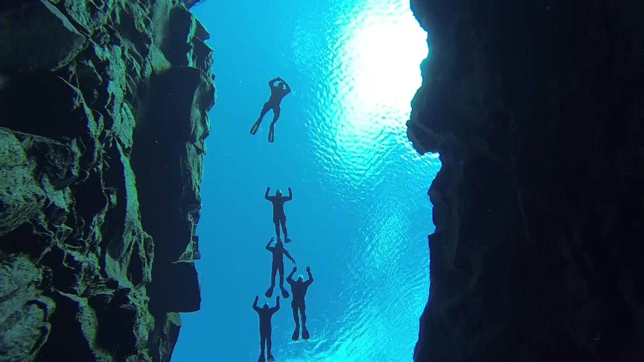 Divers Here Can Touch Two Continents at Once