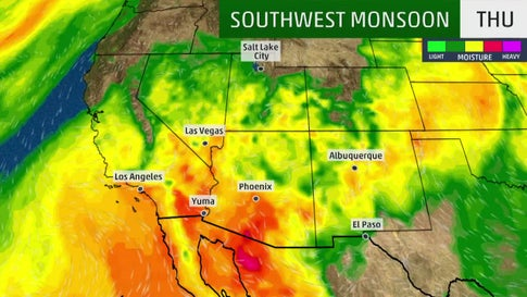 Monsoon Season Brings Dust, Wind and Storm Threat