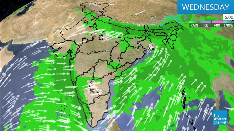 Wet Weather Persists Over Sub-Himalayan West Bengal, Assam | The