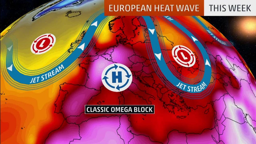 Record-High Temperatures Continue in Europe
