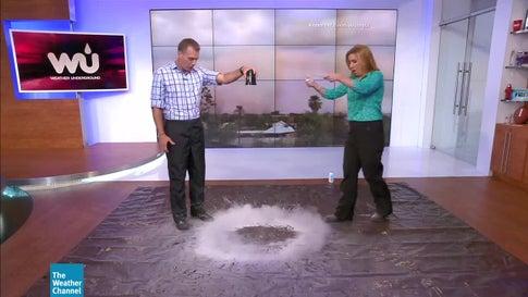 Explaining a Downdraft During a Monsoon