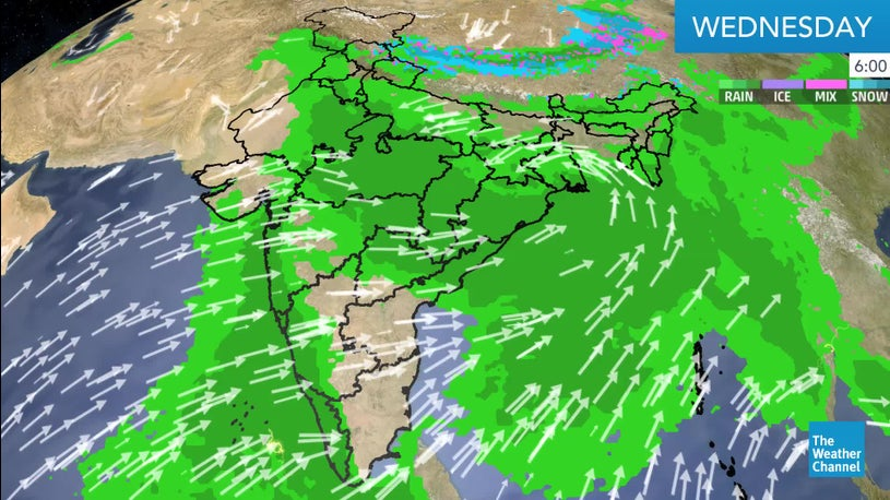 48-hour Precipitation of 200-250mm with Flooding Likely over Coastal