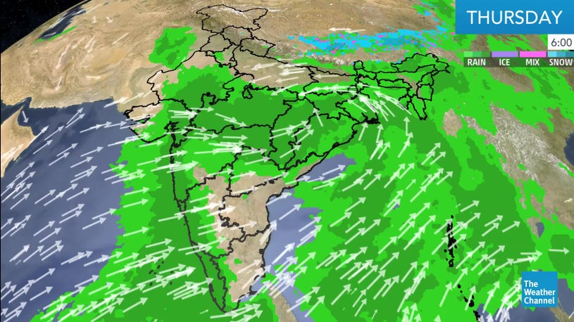 Moist Winds from the Arabian Sea to Bring More than 200mm Rainfall