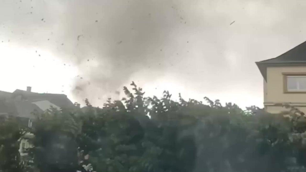 Tornado verwüstet Luxemburg