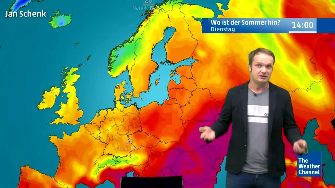 Deutschland kälter als Polarkreis: Ist die Hitze endgültig vorbei?