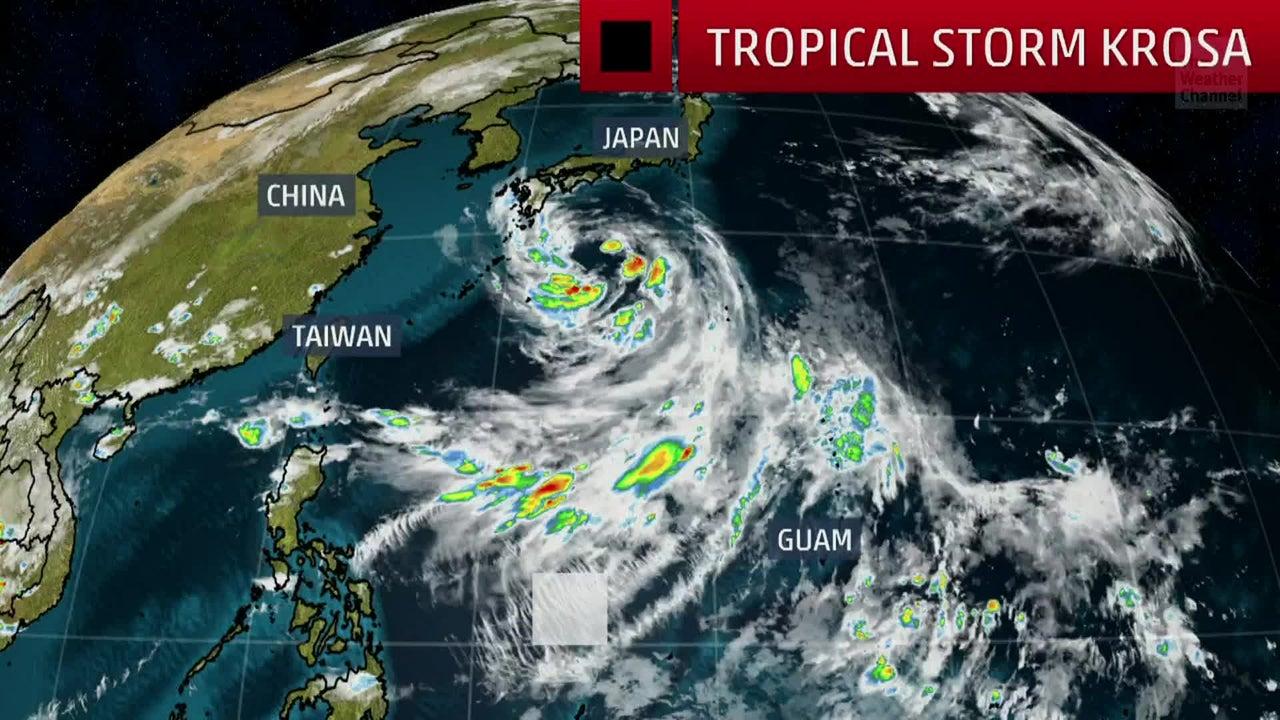 Tropical Storm Krosa to Strike Japan Later This Week