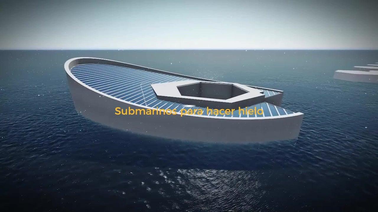 ¿Submarinos para hacer hielo?