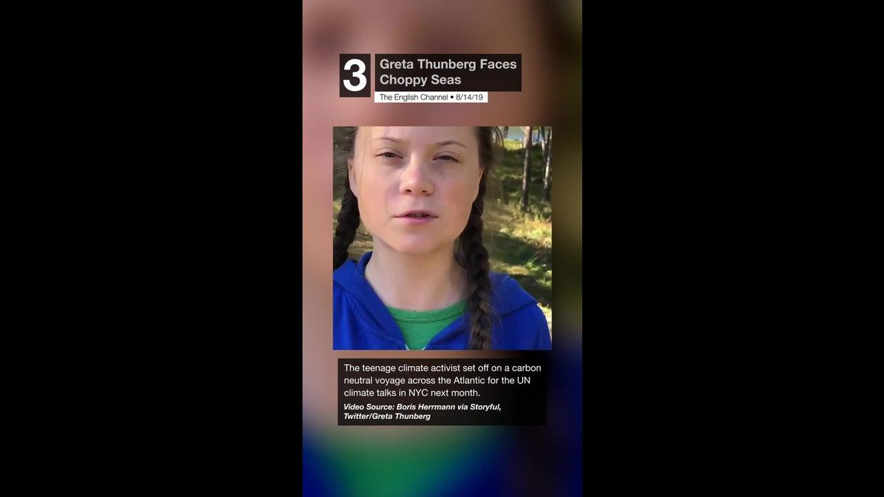 Greta Thunberg Faces Choppy Seas