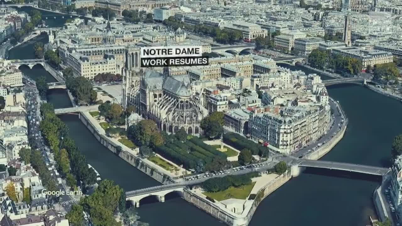 Notre Dame Restoration Resumes After Lead Contamination Fears