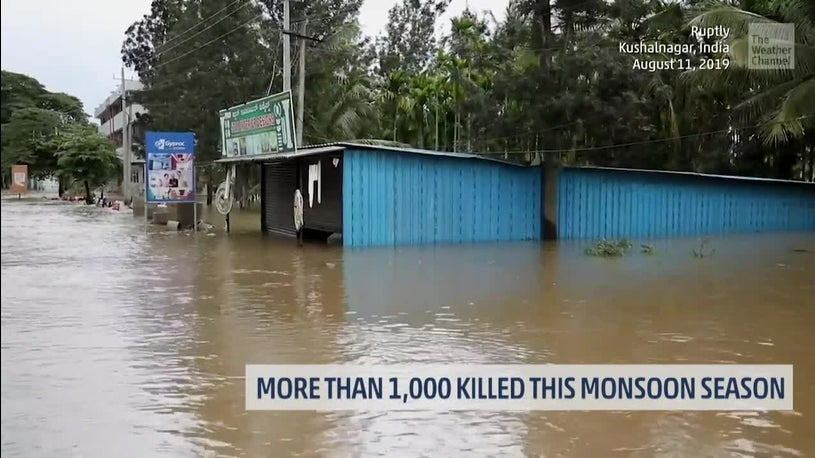 India's Monsoon Has Claimed More Than 1,000 Lives
