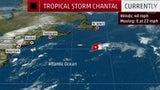 Tormenta Tropical Chantal se forma en el Atlántico norte