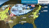 Pattern Change Bringing Heat Relief for Midwest to Northeast