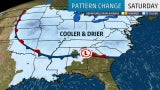 Temperatures Dropping in the Northeast and Midwest