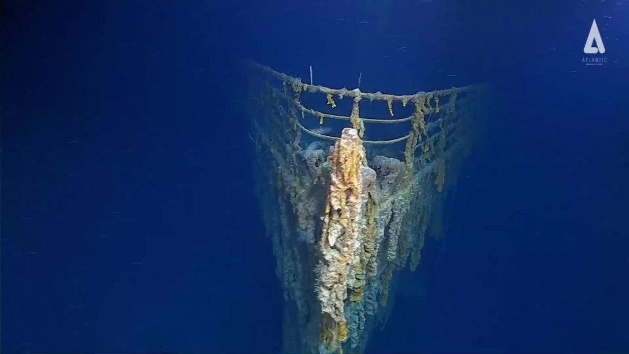In 3800 Metern Tiefe: Forscher machen neue Aufnahmen von der Titanic