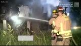 Firefighters Battle Blaze at Flood-Damaged Home in Missouri