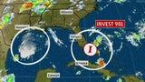 Dos sistemas tropicales traen abundante lluvia al sur