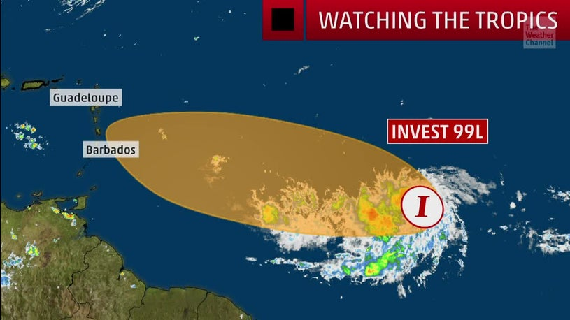 New Tropical Threat in the Atlantic