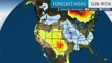 August Ends on Hot Note in the West, Cooler in the East