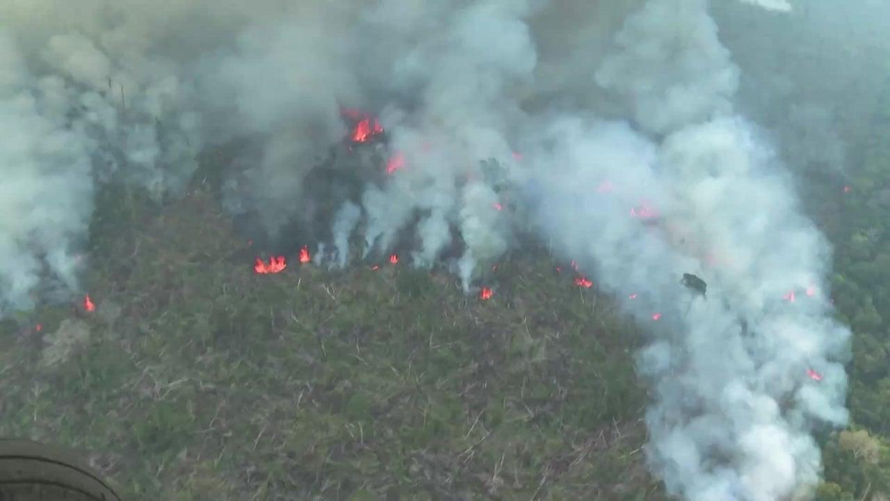 Neue Videos zeigen: So ernst ist die Waldbrandlage im Amazonas