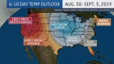 Early Fall in the East, Hot in the West