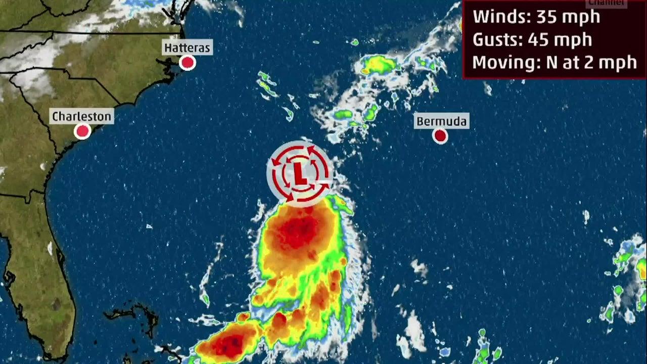 Depresión Tropical Seis acecha la costa este