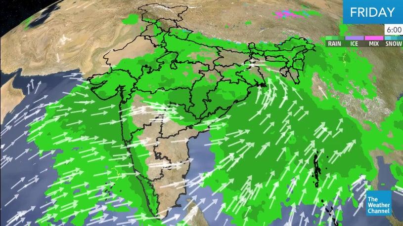 Torrential Rains in Goa and Coastal Maharashtra to Continue