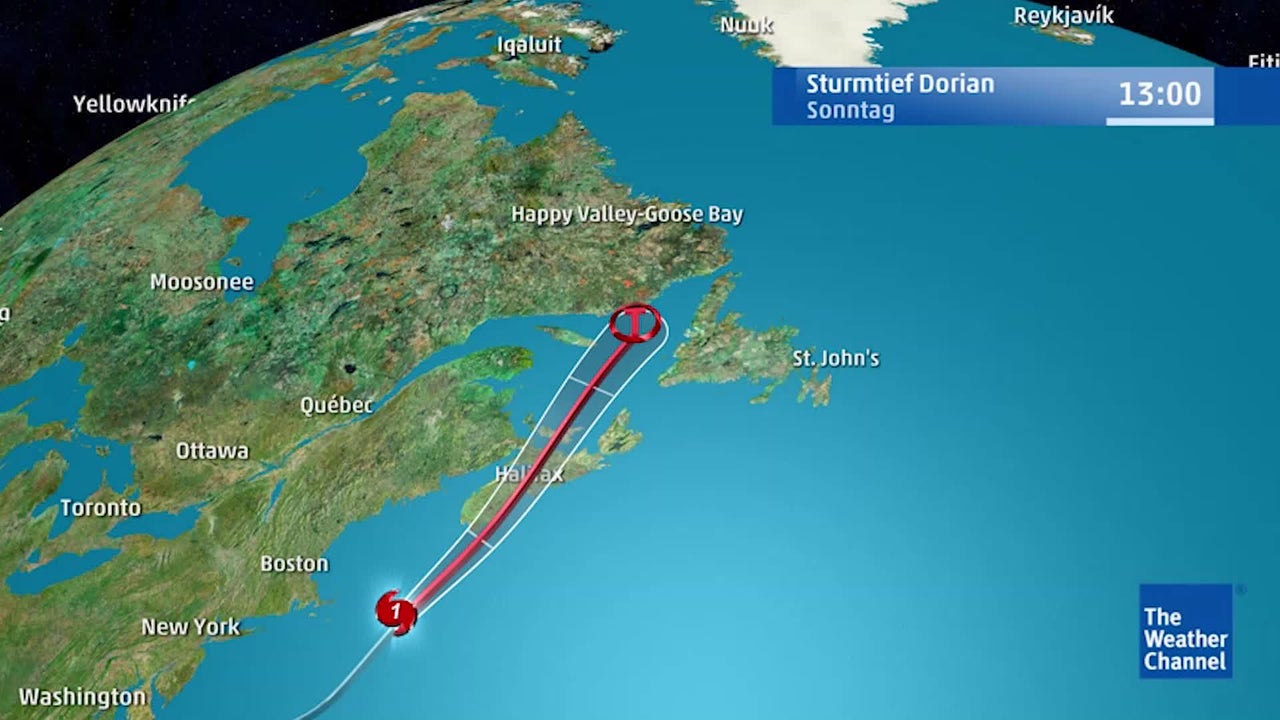Im Laufe der Wochenmitte trifft Ex-Hurrikan Dorian als Sturmtief auf die isländischen Inseln und beeinflusst mit seinen Wetterfronten dann auch Mitteleuropa. Das hat auch Folgen für das Wetter in Deutschland.