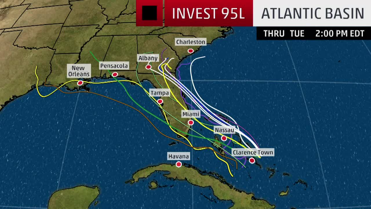 invest 95l forecast still uncertain